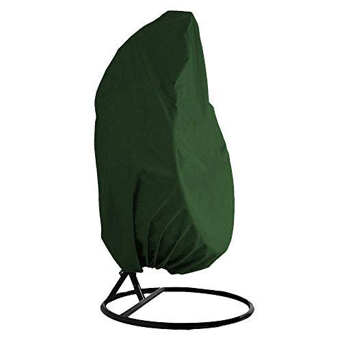 QEES Gartenschaukelstuhl-Abdeckung, strapazierfähig, für den Außenbereich, Staubschutz, wasserfest, YZZ13 Grün -