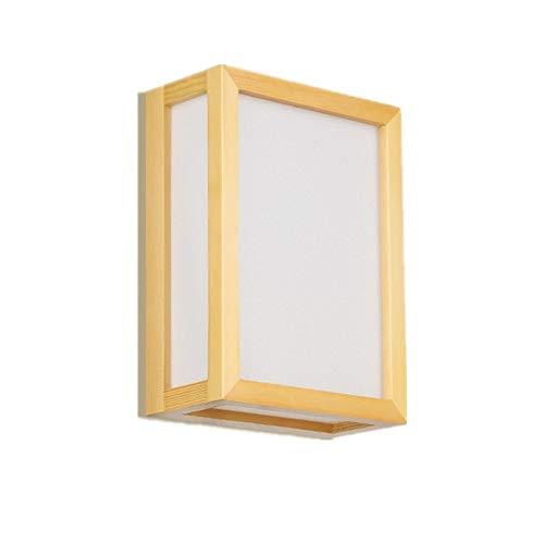 Luces Clásicas Iluminación Apliques de Lámpara de pared simple Lámpara de cabecera Estilo japonés...