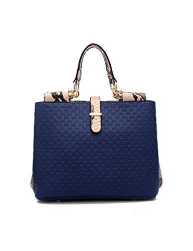 Wasserdicht Mini Damen Umhängetasche, Handtasche aus gewebtem Getreide, diagonale Cross-Tasche, geeignet für alle Arten von Anpassungen Umschlag/Card/Brieftasche/Kupplung/Party/Geschenk-blue