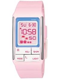 Casio LDF-51-4A - Reloj (Reloj de pulsera, Chica, Resina, Rosa, Resina, Rosa)