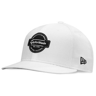 taylormade-2016-new-era-tour-9fifty-flux-flat-bill-hat-structured-mens-snapback-golf-cap-white