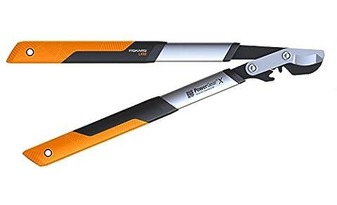 Fiskars 112260 Powergear X Coupe-branches à crémaillère/lame franche, S (38mm)