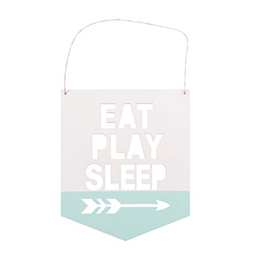 VOSAREA 1 Pc Nordic Style Wooden Chic Hang Tag Shooting Dekorative Props for Party Decoration - EAT Play Sleep