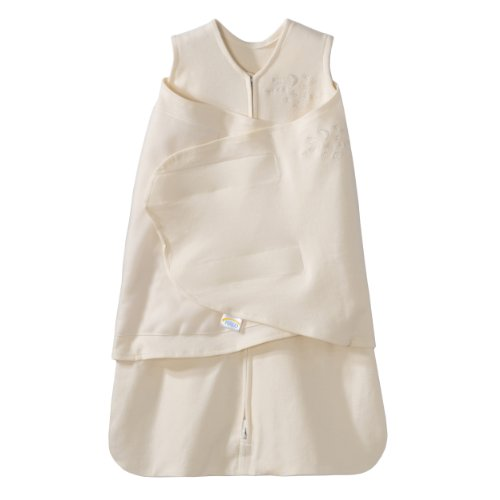 Clevamama Sleep Sack 100% Cotton Swaddle (Cream)
