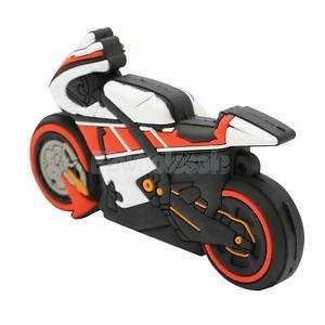 SLB Works Brand New Cool Motorcycle Motorbike Racer Model USB Memory Stick Flash Pen Drive 128GB