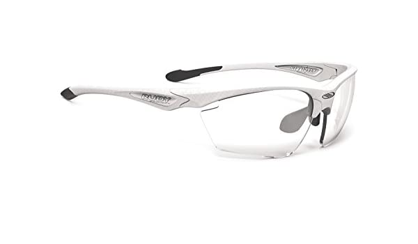 Rudy Project Stratofly Glasses Carbonium Green/Photoclear 2018 Fahrradbrille