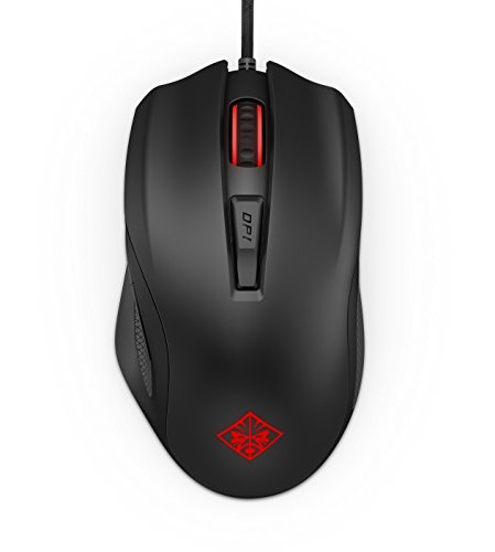 Foto OMEN by HP HP Omen 600 Mouse da Gaming, 6 Pulsanti Programmabili, Sensore...