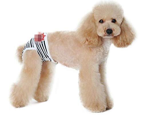 ML Hund Physiologie Hose Menstruationshose Weiblicher Hund Gefälschte Tante Hose Anti-Belästigung Sicherheit Unterwäsche, s