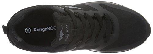 KangaROOS Unisex-Kinder Kanga X 2200 Low-Top Schwarz (black 500)