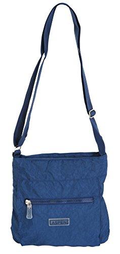 borsa a leggera Blu con viaggio navy da tracolla CN2840 Aspen cerniera 4w5apdqq