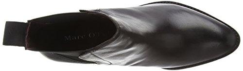 Marc O'Polo Chelsea Boot, Bottes Chelsea courtes, doublure froide femme Noir - Schwarz (990 black)