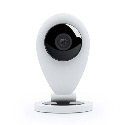 HiKam S5 Telecamera Videosorveglianza HD con Istruzioni per l'uso / App / Assistenza in italiano (IP Camera Webcam Videocamera Sorveglianza WiFi WLAN Wireless)