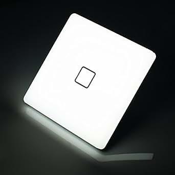 uesen 24w led deckenleuchte ersetzt 150w gl hbirne kaltwei 5000k led deckenlampe ip44. Black Bedroom Furniture Sets. Home Design Ideas