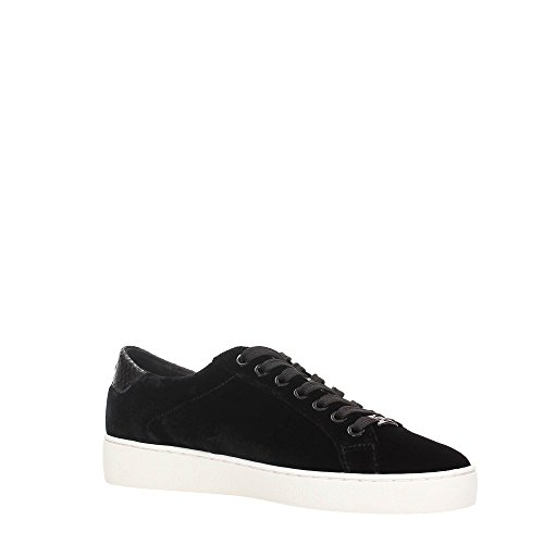 Michael Kors Sneakers Irving Lace Up Black Velvet Nero