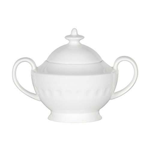 Mikasa Taylor Bone China Sugar Bowl, 10-Ounce by Mikasa Mikasa China Sugar Bowl