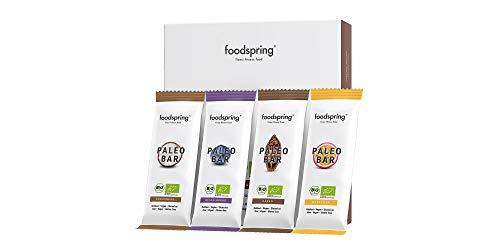 foodspring Bio Paleo Bar, 12er Pack, Veganer Rohkost-Riegel, Made in Germany (12er Mix) (Bio-health-bars)