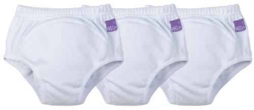Vital Innovations 3TPA 18-24M Bambino Mio Trainingshöschen, (3er-Set), weiß