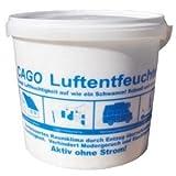 CAGO Luftentfeuchter Granulat Nachfülleimer 5 Kg