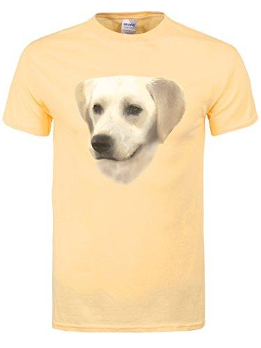 Goldener Labrador Männer T-Shirt blassgelb (Golden Retriever Baby Kostüm)