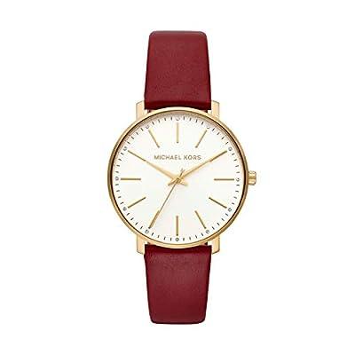 Michael Kors Reloj Analógico para Mujer de Cuarzo con Correa en Cuero MK2749