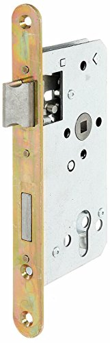 GAH-Alberts 215224 Einsteckschloss speziell für Rahmentore, ohne Schließblech, verzinkt, Dornmaß...