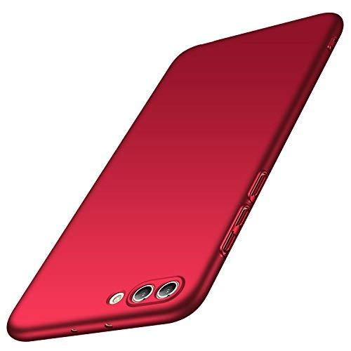 anccer Huawei Honor View 10 Hülle, Huawei Honor V10 Hülle, [Serie Matte] Elastische Schockabsorption und Ultra Thin Design (Glattes Rot)