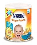 Nestle FARINE LACTEE TIN 350g Baby Cereal Cream Milk Powder From 6 Months Nutritional Value , Delicious ,Fresh