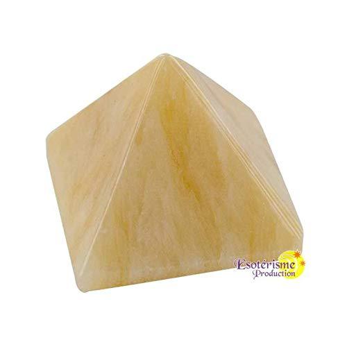 Pirámide Calcita Naranja 30mm-la pieza