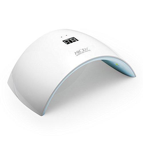 Abody Fornetto unghie con USB si può usare attraverso Banca di Potere 24W in Automatico Sensore Lampada LED unghie per LED UV Professionale per Manicure, Buon Regalo della Festa (blu)