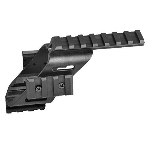 Universal Tactical Pistol Sight Laser Light Polymer Light Mount mit Quad 7/8