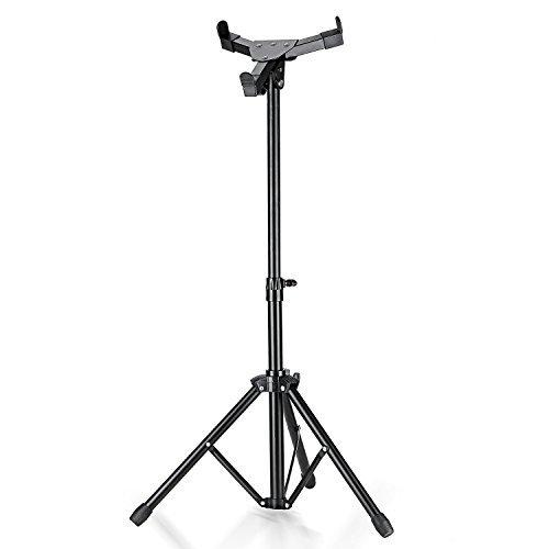 Neewer® Lega di Alluminio Estensibile Regolabile Stand a 3 Piedi per Drum-pad Allenatore per Batteria, 19pollici/49cm, Adatto a Drum-pad da 9.4pollici/24cm in Diametro o Inferiore