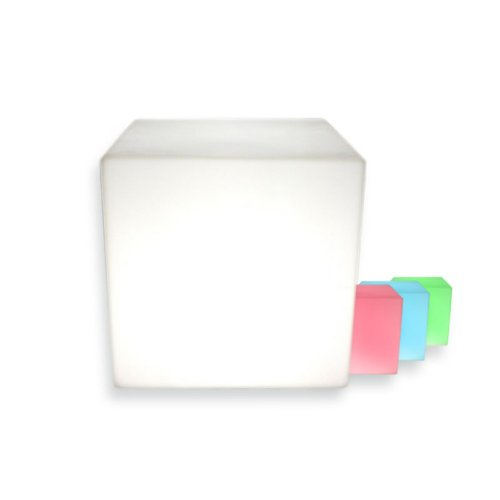 Cubo luminoso led LITEN KUB RGB recargable