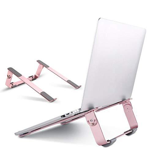 SSRSHDZW Computerständer Neuer Höhenverstellbarer Aluminium-Desktop-Notebookständer Mit Niedrigem Standfuß für die Notebookkühlung