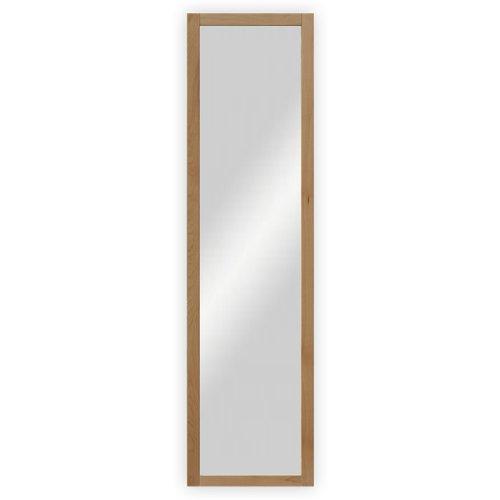 Wand-  Garderobenspiegel mit Holzrahmen, Buche lackiert - ca. 45 x 170 cm