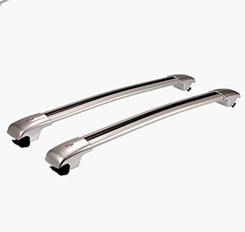 RUIX Dachgepäckträger,Dachträger/Traverse / Dachlaufregal,Silver