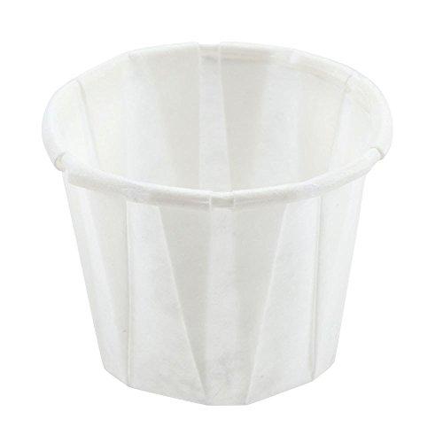 1000x 113,4gram usa e getta bianco terrine paper souffle/portion vasi/salsa vasetti per condimenti o farmaci da genpack