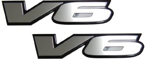 2-x-pair-set-v6-engine-badge-emblem-for-pontiac-g6-grand-prix-firebird-grand-am-cadillac-cts-catera-