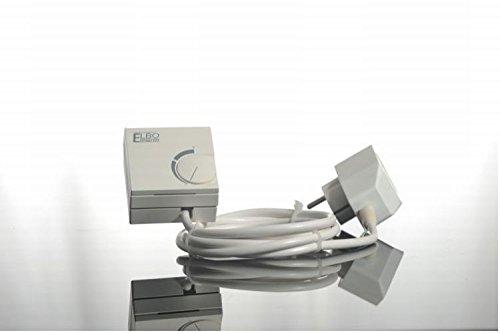 Elbo Therm Doppel Stecker Thermostat Zubehör für die Flachheizung