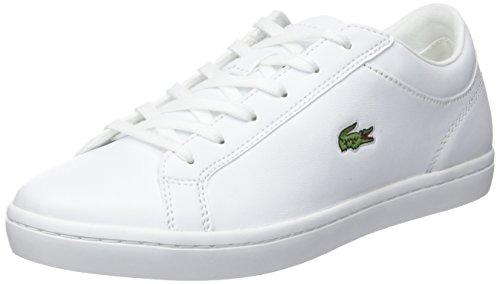 Lacoste Sport Damen Straightset Bl 1 Sneaker, Weiß (Wht), 38 EU