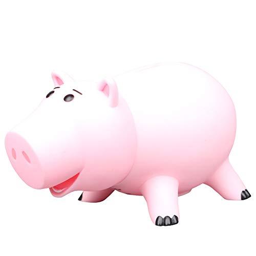 Piggy Bank Nettes Schwein geformt Münze Money Bank Shatterproof Piggy Bank-Münzen-Bank Sparkasse Money Bank Entzückende Schwein Figurine für Jungen-Mädchen-1Set 12cm Rosa