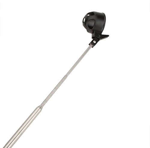 tolako 2 m Golf Ball Retriever - Palline da golf Picker Pick Up Tubo da 16 a 78 retracted lunghezza, Asta in acciaio inox, chiusura automatica