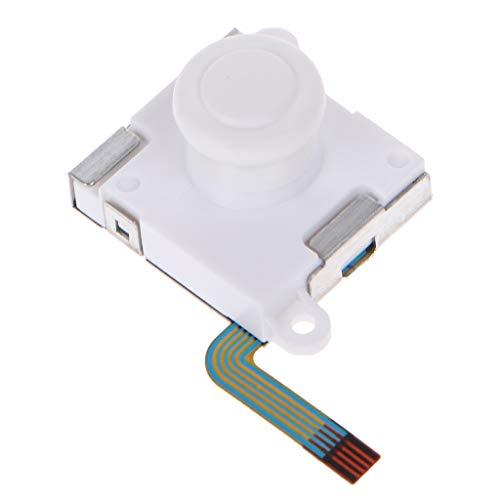 Junlinto, 3D Analog Joystick Daumenstick Pokeball Controller Daumengriff Sensormodul Potentiometer Ersatz für Nintend Switch NS Poke Ball Plus