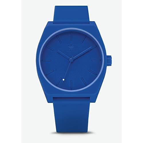 Adidas Unisex Analog Quarz Uhr mit Silikon Armband Z10-2490-00