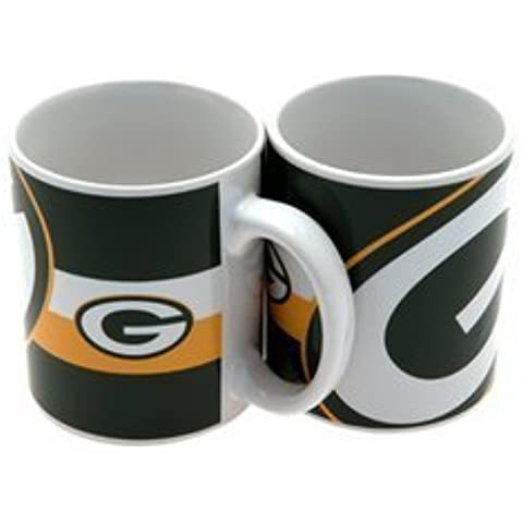 Green Bay Packers Mug BC Official Merchandise by Forever Collectibles