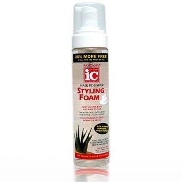 Fantasia IC - Spray Coiffant, Réparateur et Nourissant pour Cheveux Secs et Cassants - 207 ml + 44 ml Gratuit