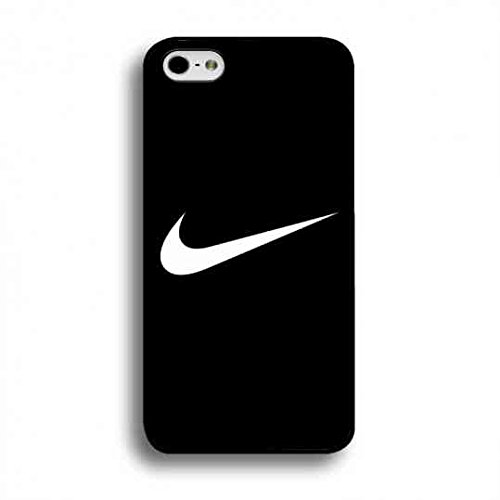 Hot Style Nike Logo Custodia Cover,Just Do It Nike Logo Iphone 6/6S Case,Nike Custodia Cover Black Hard Plastic Case Cover For Iphone 6/6S Color049