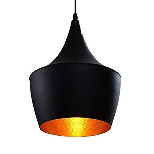 Vintage Lámpara Colgante de Techo E27 Retro del Metal Luminaria Industrial LED...