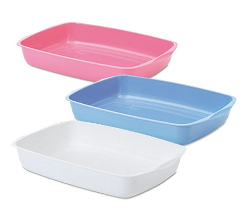 Savic Cat Litter Tray 15 inch, Assorted Colours