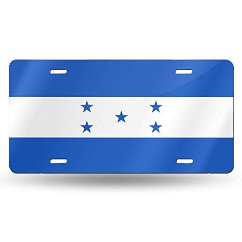 mchmcgm Honduras Flag Nummernschilder Front Plate 6