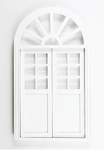 Melody Jane Puppenhaus Gewölbt Doppel Tür Weiß Handwerker 1:12 Maßstab Miniatur -